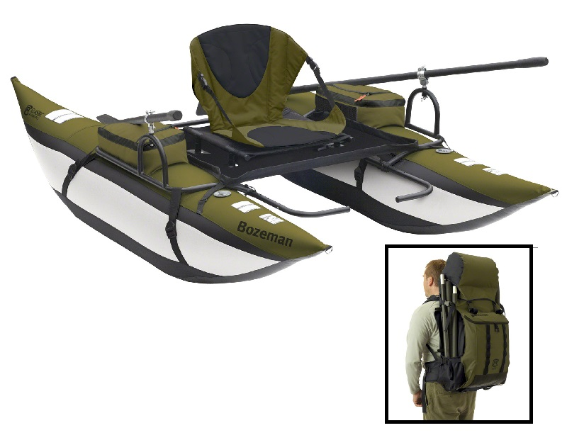 Bozeman Backpack Inflatable Pontoon Boat