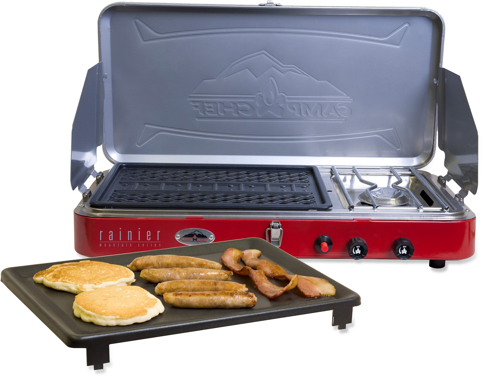 Camp Chef Rainier Campers Combo - Grill/Griddle/Stove
