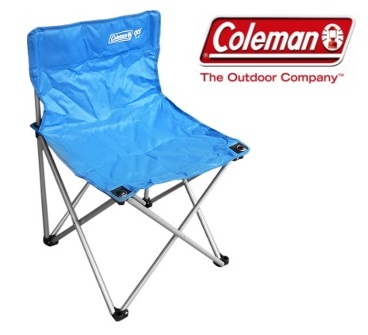 Coleman Go! Quad Chair - Blue