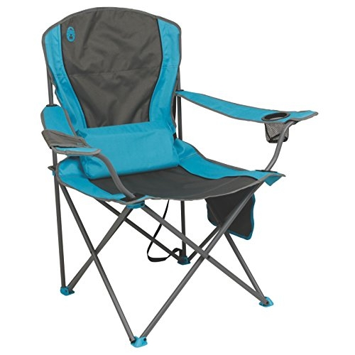 Coleman Lumbar Quad Chair - Blue