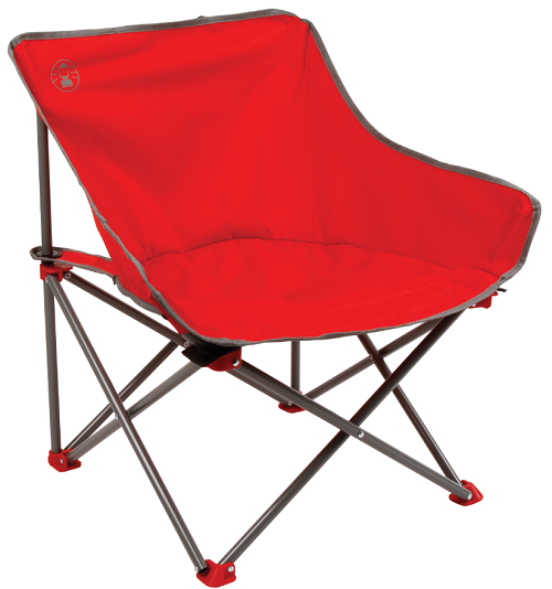 Coleman Kickback Chair - Red