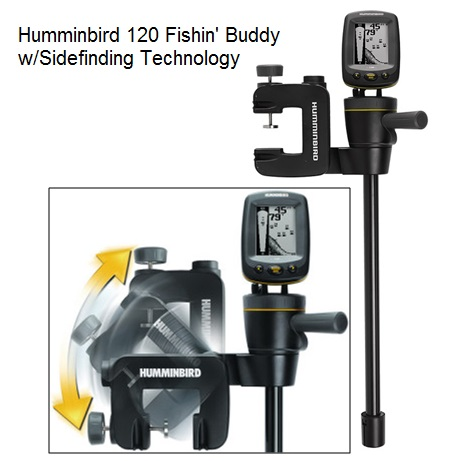 Humminbird 120 Fishin Buddy w/Sidefinding Technology